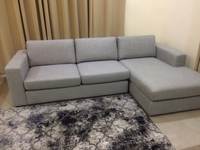 Used L SHAPE COUCH ( USE ONLY 8 month  in Dubai, UAE