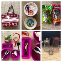 Used Kitchen jars & baking molds & bag & .... in Dubai, UAE