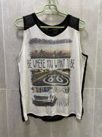 Used Trendy Tank-Top Shirt Size (M/L) in Dubai, UAE