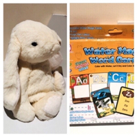 Used Water Magic Word Cards age3+ bunny toy in Dubai, UAE