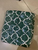 Used wing chair cover green NEW in Dubai, UAE
