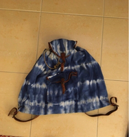 Used Blue fabric backpack for men in Dubai, UAE