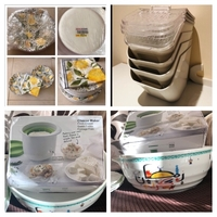 Used Bundle kitchen 4 store container & bowl in Dubai, UAE