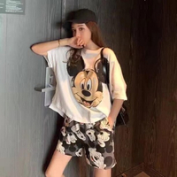 Used Mickey Mouse shirt and short set in Dubai, UAE