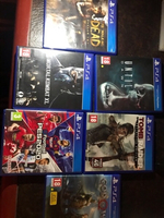 Used (3) Playstation 4 games for this amount  in Dubai, UAE