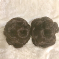 Used 2 pieces hair bun and 1 hair band in Dubai, UAE