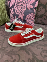 Used Vans Red shoes in Dubai, UAE
