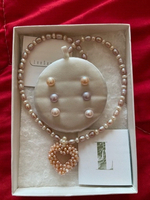 Used LeeSands pearl necklace and earrings  in Dubai, UAE