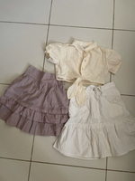 Used Skirt and top for girls in Dubai, UAE