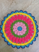 Used Mandala napkin in Dubai, UAE