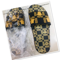 Used Versace inspired Rubber Sandals size 42 in Dubai, UAE