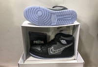 Used Jordan 1 Dior, Mid Black/Grey EU44 in Dubai, UAE