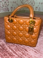 Used REAL MINI LADY DIOR BAG ( brown )  in Dubai, UAE