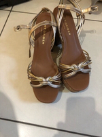 Used Kurt guiger size 40 platform sandals  in Dubai, UAE