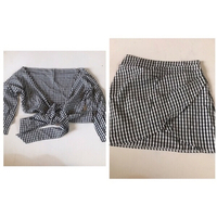 Used Top ans skirt size small  in Dubai, UAE