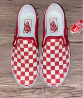 Used Vans checkered red and white unisex in Dubai, UAE