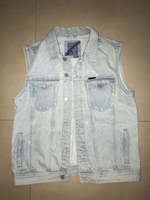 Used Oversized denim vest in Dubai, UAE