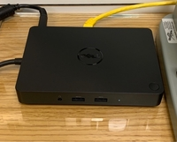 Used New Dell type c docking station WD16 in Dubai, UAE