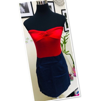 Used Tube blu/Red dress size Small ♥️ in Dubai, UAE