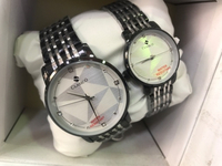 Used CLASSICO COUPLE WATCHES SILVER 👩‍❤️‍👨 in Dubai, UAE