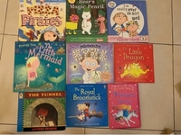 Used 9 x Reading books for kids 4-8 years in Dubai, UAE