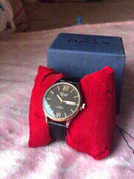 Used New OMAX Montres watch black leather  in Dubai, UAE