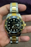 Used Rolex black gold and silver battery pow  in Dubai, UAE