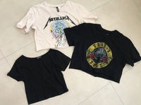Used Crop T-shirts  in Dubai, UAE