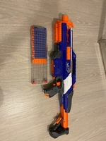 Used Nerf N-strike Elite Rapid Strike  in Dubai, UAE