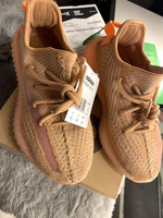 "Used Yeezy ""clay"" size 4.5 US never worn in Dubai, UAE"