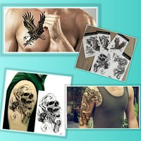 Used 5 pcs medium size temp. Tattoos in Dubai, UAE