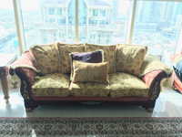Used  Sofa set for seven in Dubai, UAE