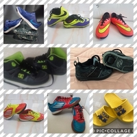 Used 8 Pairs of Shoes ALL ORIGINALS!! in Dubai, UAE