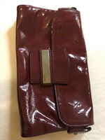 Used Max Mara maroon Clutch bag in Dubai, UAE