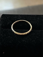 Used 18k real gold ring New in Dubai, UAE