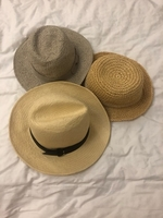 Used Bundle of branded hats and visor in Dubai, UAE