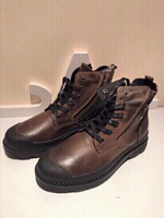 Used Men's Boots size 44 color brown new in Dubai, UAE