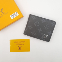 Used LV men wallet high quality with box in Dubai, UAE