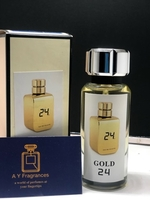 Used Gold 24 perfume 100ml  in Dubai, UAE