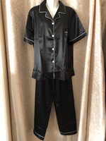 Used Black shiny pyjama size 5XL Asian  in Dubai, UAE