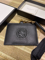 Used Authentic new Gucci pass holder in Dubai, UAE