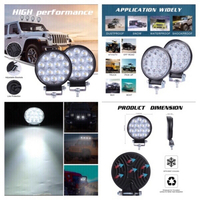 Used LED headlights searchlight 2 pcs in Dubai, UAE