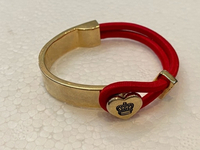 Used Juicy couture red bracelet gold  in Dubai, UAE