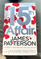 Used 15th Affair By James Patterson in Dubai, UAE