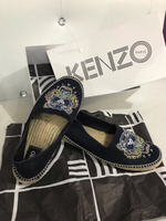 Used Authentic Kenzo Spadrille Canvas Shoes in Dubai, UAE