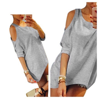Used Shoulder cut out top size L in Dubai, UAE