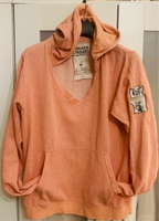 Used Peach Hoodie  in Dubai, UAE