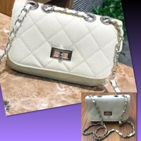 Used PU LEATHER CHAIN SMALL BAG in Dubai, UAE