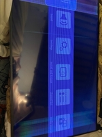 Used Toshiba Tv 55 inches has lines on screen in Dubai, UAE