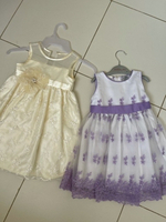 Used Two girls party dresses  in Dubai, UAE